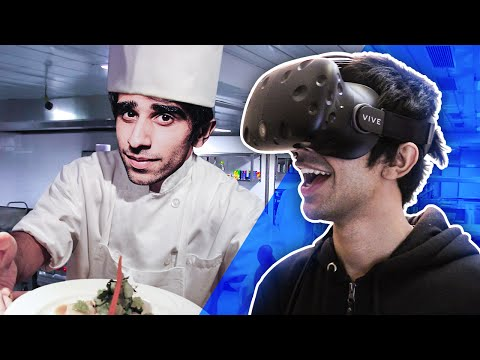 IM A CHEF! – VIRTUAL REALITY on HTC VIVE – (Job Simulator Gameplay)