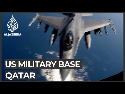 US military personnel vote from Qatar base