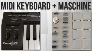 How to use a MIDI controller alongside your Maschine. A frequently asked question, so I made this quick video! Music: http://andrewchellman.bandcamp.com/