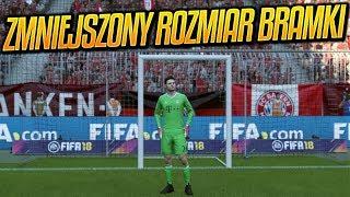 🔥 Co się stanie gdy ZMNIEJSZYMY ROZMIAR BRAMKI 🔥 FIFA 18 MOD