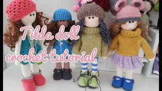 How To Crochet Tilda Doll / Large Doll Crochet