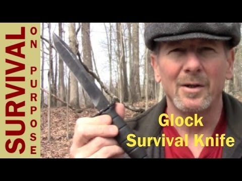Glock Survival Knife Review – Survival On A Shoestring