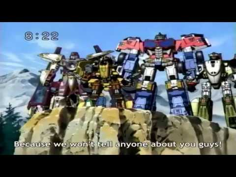 Transformers - Galaxy Force( Sub. English ) 2 - 2/2