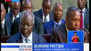 Buriani Matiba:Ibada ya wafu kwa mwendazake Kenneth Matiba imefanyika leo Nairobi