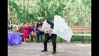 Calgary Wedding Photographer: Summer Wedding at Glenmore Sailing Club - Video Clip