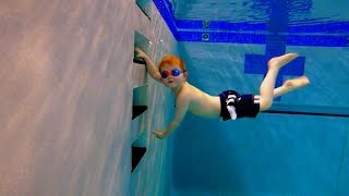 Practice Swimming In Deep Water