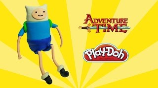 play doh adventure time finn - how to make with playdoh