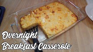 Overnight Breakfast Casserole    What's For Breakfast Christmas Morning