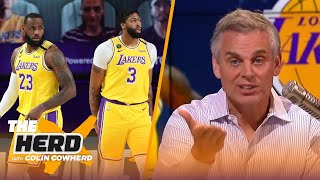 Colin Cowherd reveals 2 truths about the Lakers, talks Zion's minute restrictions | NBA | THE HERD