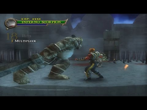 Download Mortal Kombat Shaolin Monks - Play As Inferno Scorpion Vs Oni Warlord HD Mp4 3GP Video and MP3