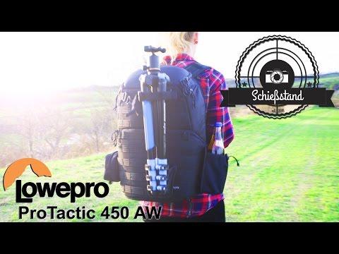 Profi Kamera- und Drohnen-Rucksack Review: LowePro ProTactic 450 AW (in 4K)