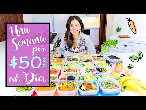 Come Una Semana Vegano Por 50 Pesos