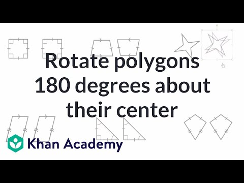 How to identify and calculate rotational symmetry youtube.