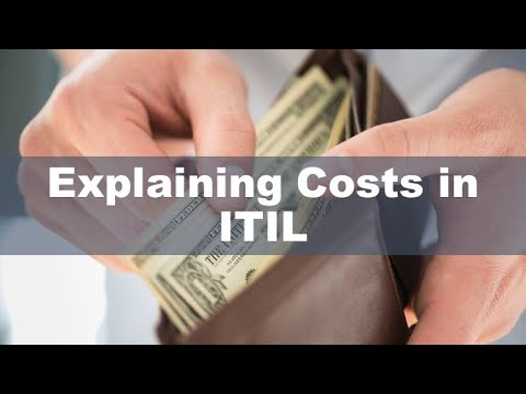 Explaining Costs in ITIL - YouTube
