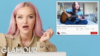 Dove Cameron Watches Fan Covers on YouTube | Glamour