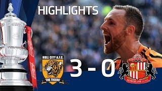 HULL CITY VS SUNDERLAND 30 Official Goals And Highlights FA Cup Sixth Round HD
