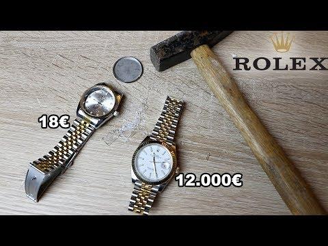12.000u20ac ROLEX UHR ZERSTÖRT PRANK !!! | PrankBrosTV