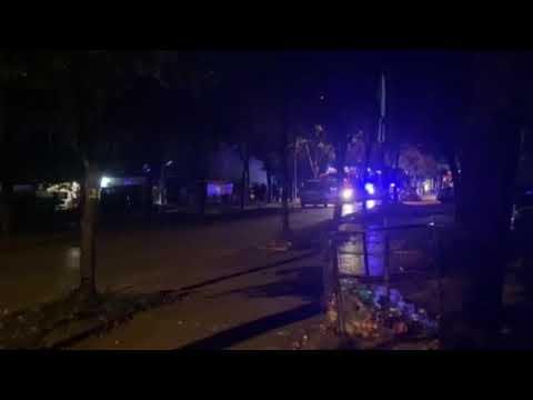 Goreli karton i pomoćni objekat u Ulici Branka Krsmanovića u Nišu, nema povređenih