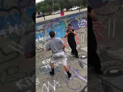 Fight at largo skatepark