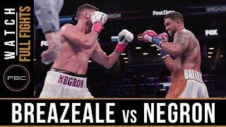 Breazeale Vs Negron FULL FIGHT: December 22, 2018 — PBC On FOX