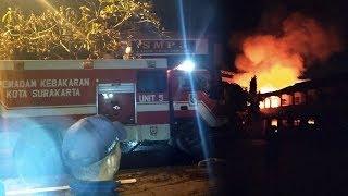 Kebakaran di Gedung SMPN 3 Solo, Ruang Lab dan Kelas Dilahap Api