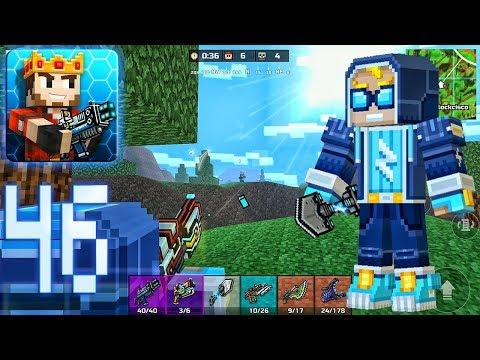 Pixel Gun 3D - Battle Royale Gameplay Part 46 - Spark Skin