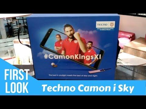 Tecno Camon i Sky: First Look