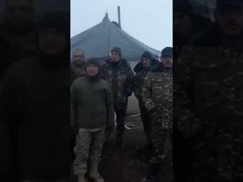 «Դավաճանը պետք է հեռանա». Սյունիքի սահմանները պահող աշխարհազորայինները տեսաուղերձ են հղել՝ միանալով բանակի պահանջին