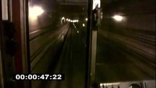 Двухстороннее движение поезда.