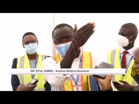 Entebbe airport unveils new COVID-19 screening area