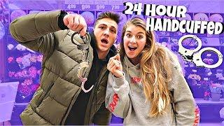 24 Hour Handcuff Challenge Boyfriend & Girlfriend