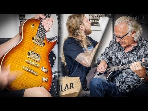GUITAR UNBOXING WITH DAD