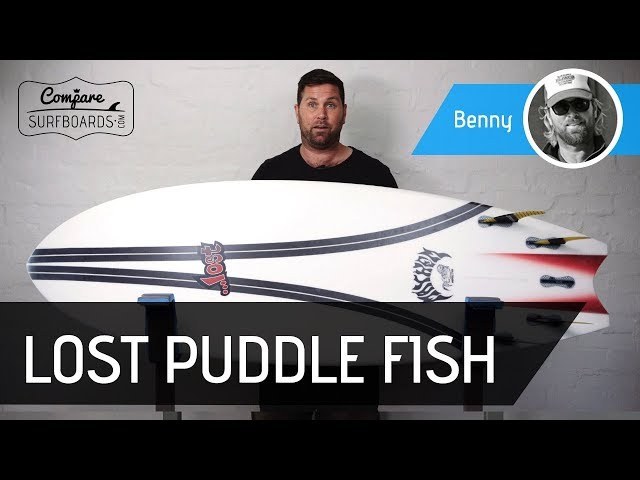 Lost Puddle Fish Carbon Wrap Surfboard Review | Compare Surfboards