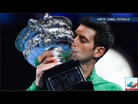 , title : 'Djokovic vence a Thiem y conquista su octavo Abierto de Australia; recupera el No.1 del mundo'