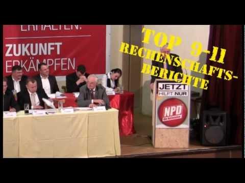NPD Thüringen / Landesparteitag 2012 (TOP 8 und 9) / 12.05.2012