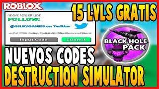 destruction simulator codes roblox - TH-Clip