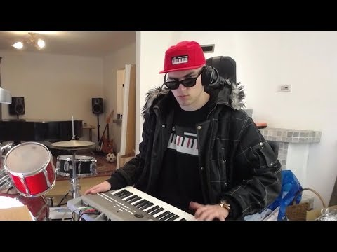 Keyboardist Makes Up Music For Random Video Game Stuff