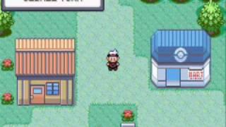 Pokemon Ruby hack glitches 1