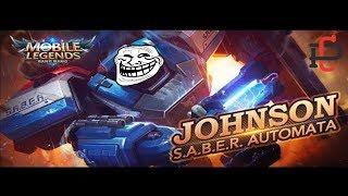 Mobile Legends - O QUE ACONTECE SE UM JOHNSON ULTAR DENTRO DE OUTRO JOHNSON ULTADO!?