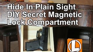 DIY Secret Storage Compartment For Guns And Valuables In Plain Sight