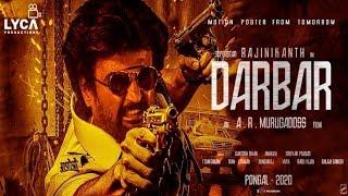Darbar Official Motion Poster - Rajinikanth - Nayanthara - AR Murugadoss - Darbar poster review
