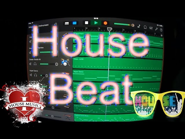 how to make a house beat in garageband for ip. Black Bedroom Furniture Sets. Home Design Ideas