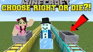 CHOOSE THE RIGHT MINECART OR DIE!!! - STORY MODE SEASON 2 - [EPISODE 2] [2]