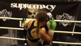 Supremacy Amateur League V - Linn Wennergren vs Jennie Friberg