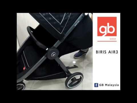 gb Biris Air3 stroller – Three Wheel Baby Stroller