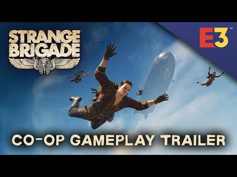 Strange Brigade – Co-op Gameplay Trailer thumbnail