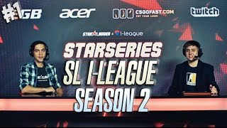 Лучшие моменты CS GO SL i-League StarSeries S2 | Part 1