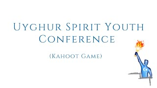 Kahoot Game – USY Conference in English