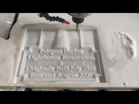 Double Head CNC Stone Engraving Machine