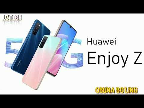 HUAWEI ENJOY Z 5G  ENG ARZON 5G TELEFON// APPLE GLASSNI TAYYORLADI/ 15 YIL AVVALGI 3 EKRANLI SONY ..